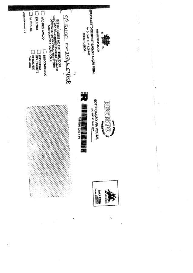 Despacho de acusação Jorge Nuno de Sá