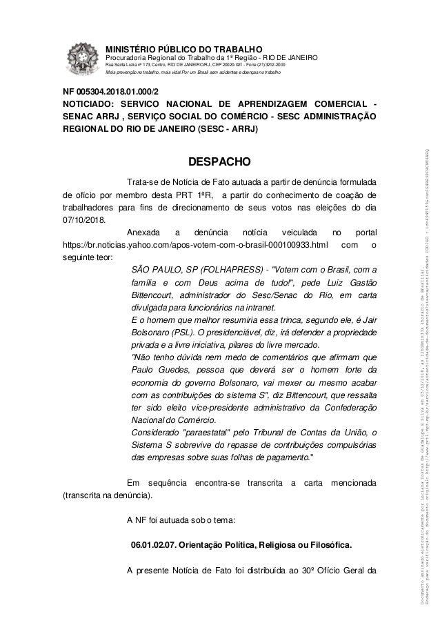 DocumentoassinadoeletronicamenteporLucianaTostesdeGuadalupeESilvaem05/10/2018,�s12h09min33s(hor�riodeBras�lia). Endere�opa...