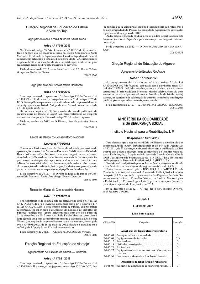 Diário da República, 2.ª série — N.º 247 — 21 de dezembro de 2012                                                         ...