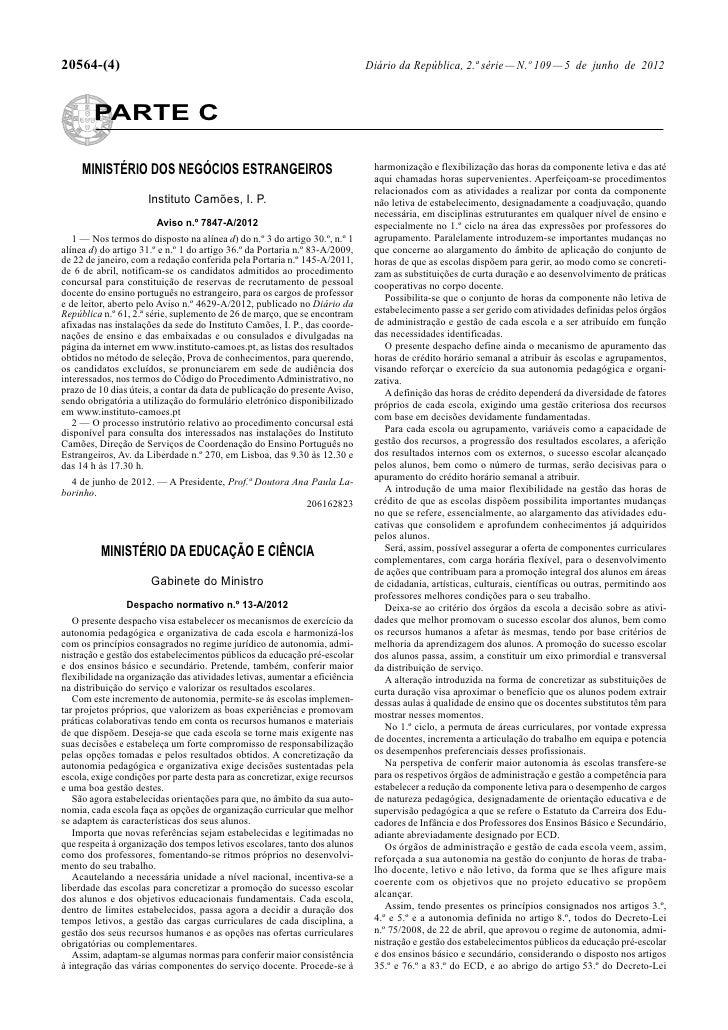 20564-(4)                                                                     Diário da República, 2.ª série — N.º 109 — 5...
