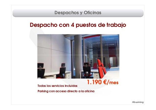 Despachos y oficinas madrid for Oficinas y despachos madrid