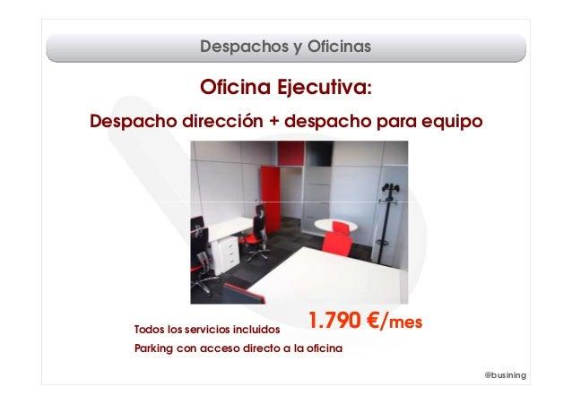 Despachos y oficinas madrid for Despachos y oficinas