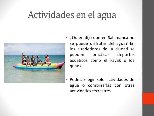 Apuntados en actividades en Salamanca