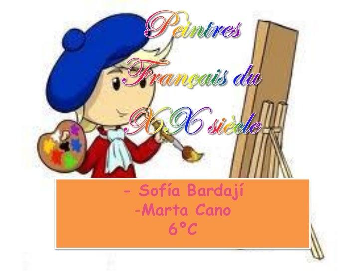 - Sofía Bardají -Marta Cano     6ºC