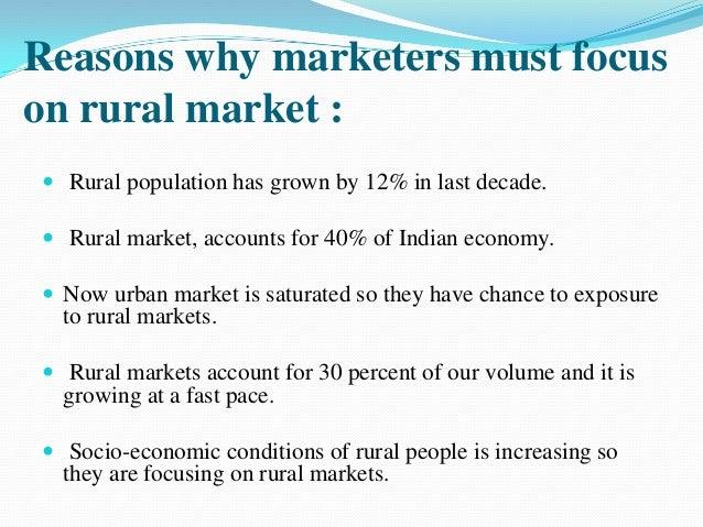 Rural marketing nature