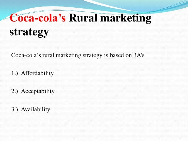 Rural Marketing - Introduction