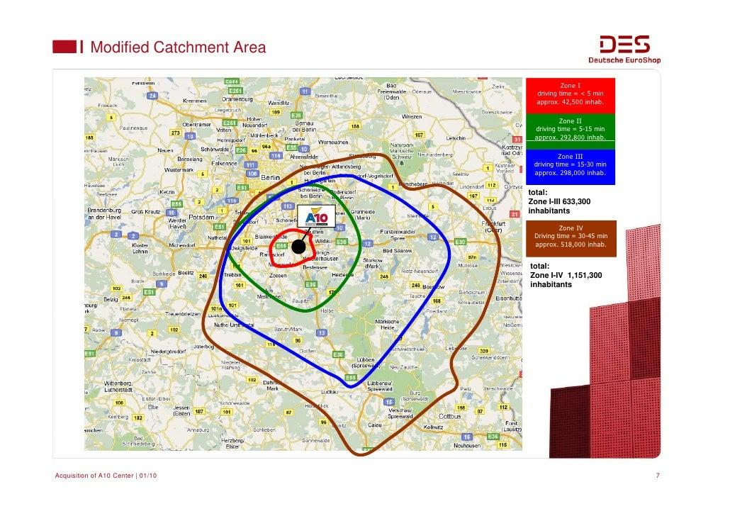 Deutsche Euroshop Acquisition Of A10 Center Wildau