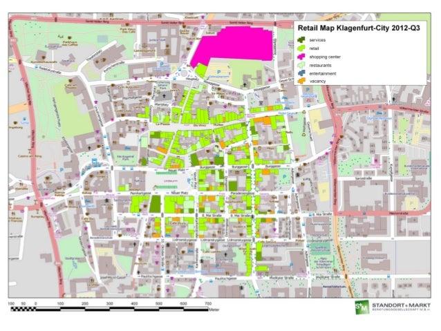 Deutsche EuroShop Real Estate Summer In KlagenfurtAustria - Klagenfurt austria map