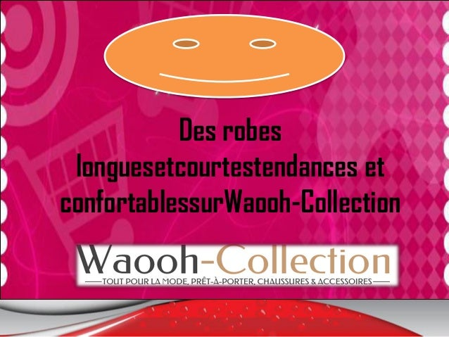 Des robes longuesetcourtestendances et confortablessurWaooh-Collection