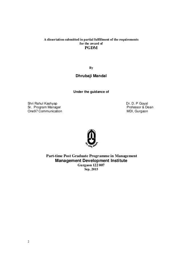 doing your dissertation in business and management Doing your master's dissertation: from start to finish by inger, furseth  as part  of a postgraduate qualification in business or management.