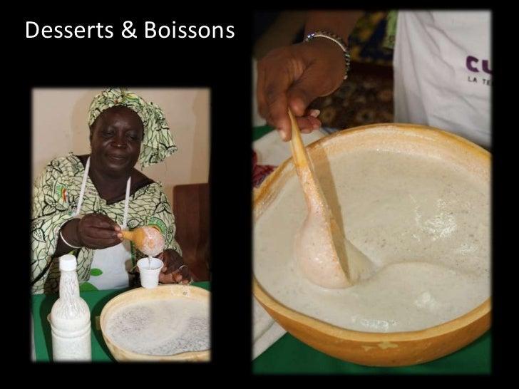 Desserts & Boissons