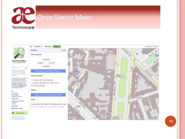 OPEN STREET MAPS 15