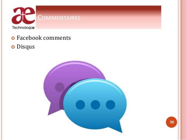 COMMENTAIRES  Facebook comments  Disqus 30