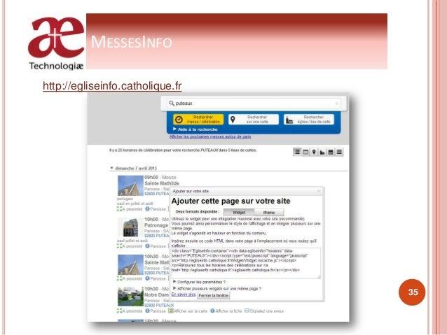 MESSESINFO http://egliseinfo.catholique.fr 35
