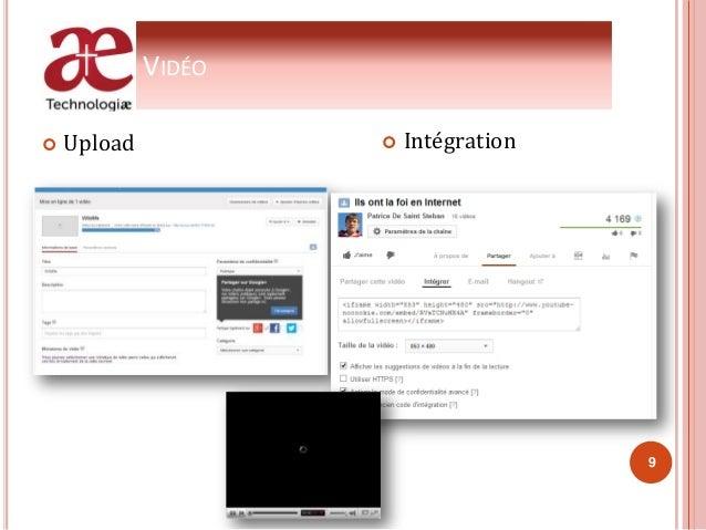 VIDÉO  Upload  Intégration 9