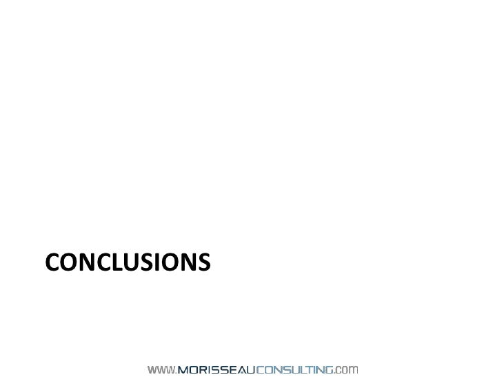 Conclusions<br />