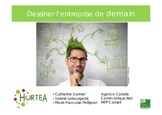 © alphaspirit - Fotolia a.com  Dessiner l'entreprise de demain  • Catherine Garnier • Valerie Lebourgeois • Marie Francois...