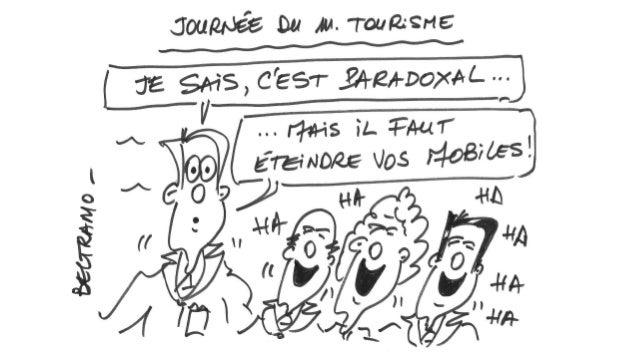 Illustrations Jean-Jacques Beltramo Journée m-Tourisme