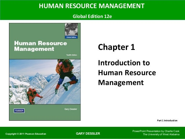 human resource management by gary dessler 12th edition ppt chapter 7