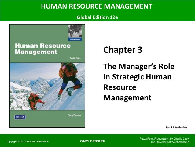 HUMAN RESOURCE MANAGEMENT                                     Global Edition 12e                                          ...