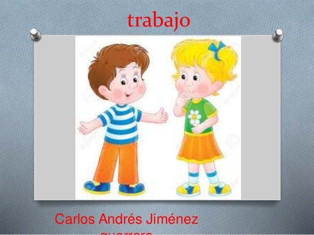 Carlos Andrés Jiménez trabajo
