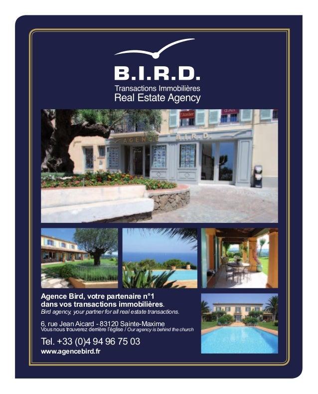 Agence Bird, votre partenaire n°1dans vos transactions immobilières.Bird agency, your partner for all real estate transact...