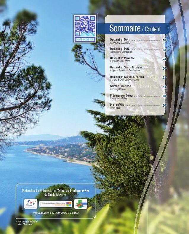 Sommaire / Content                                                                                    Destination Mer .......