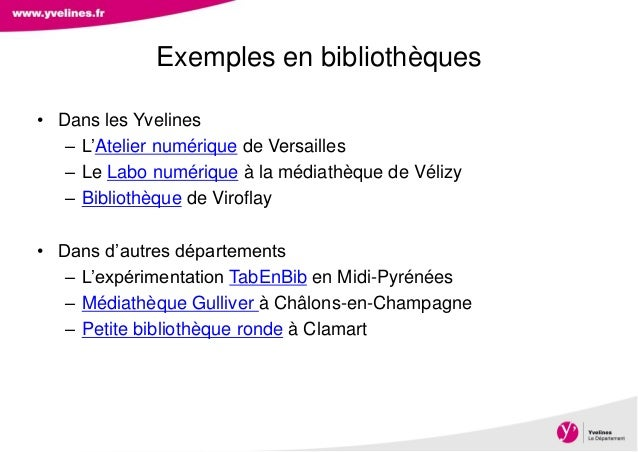 Direction des Archives, du Patrimoine, de l'Archéologie et de la Culture • Dans les Yvelines – L'Atelier numérique de Vers...