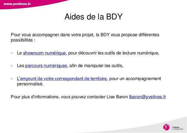 Direction des Archives, du Patrimoine, de l'Archéologie et de la Culture Pour vous accompagner dans votre projet, la BDY v...