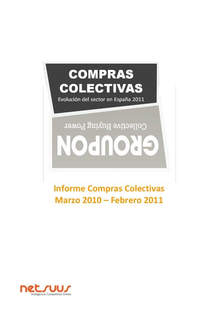 Informe Compras Colectivas Marzo 2010 – Febrero 2011
