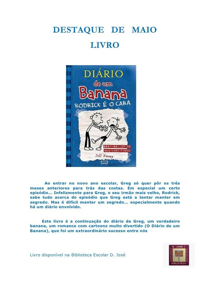 DESTAQUE   DE   MAIO <br />LIVRO<br />1301115316230                 <br />    <br />                                  <br ...