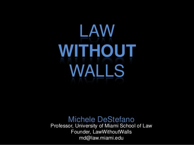 The Future Legal Marketplace:  Innovation, Extrapreneurship, and a Law Without Walls