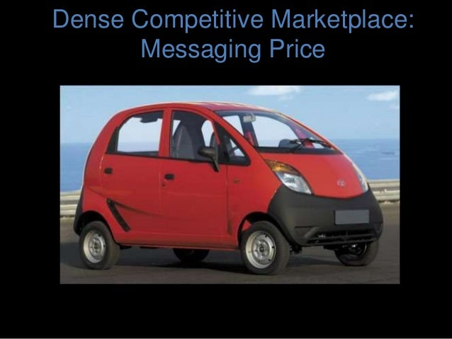 Dense Competitive Marketplace: Messaging Price