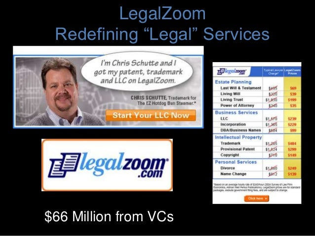 """LegalZoom Redefining """"Legal"""" Services $66 Million from VCs"""