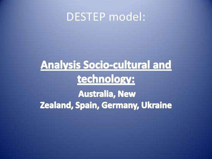 DESTEP model: