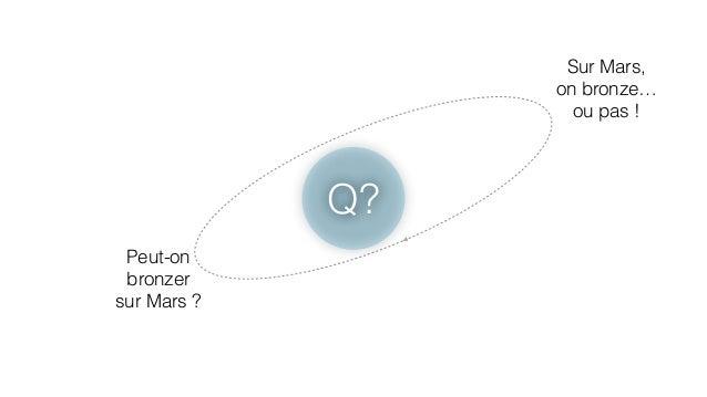 Q?  Peut-on  bronzer  sur Mars ?  Sur Mars,  on bronze…  ou pas !