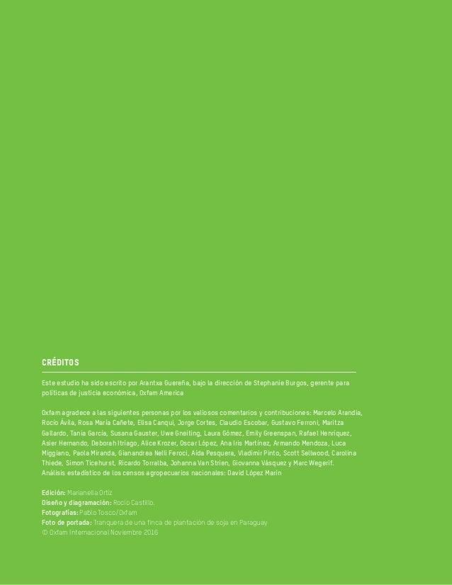 """Reporte Oxfam """"Desterrados: Tierra, poder y desigualdad en América Latina"""" Slide 3"""