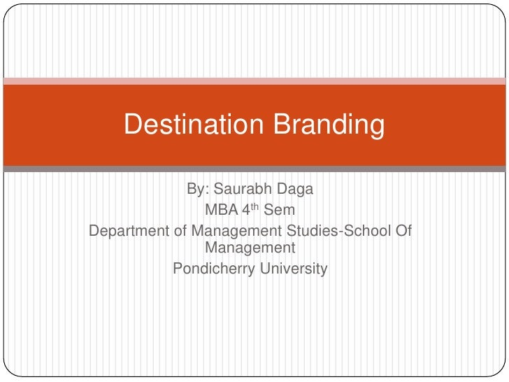 By: SaurabhDaga<br />MBA 4thSem<br />Department of Management Studies-School Of Management<br />Pondicherry University<br ...