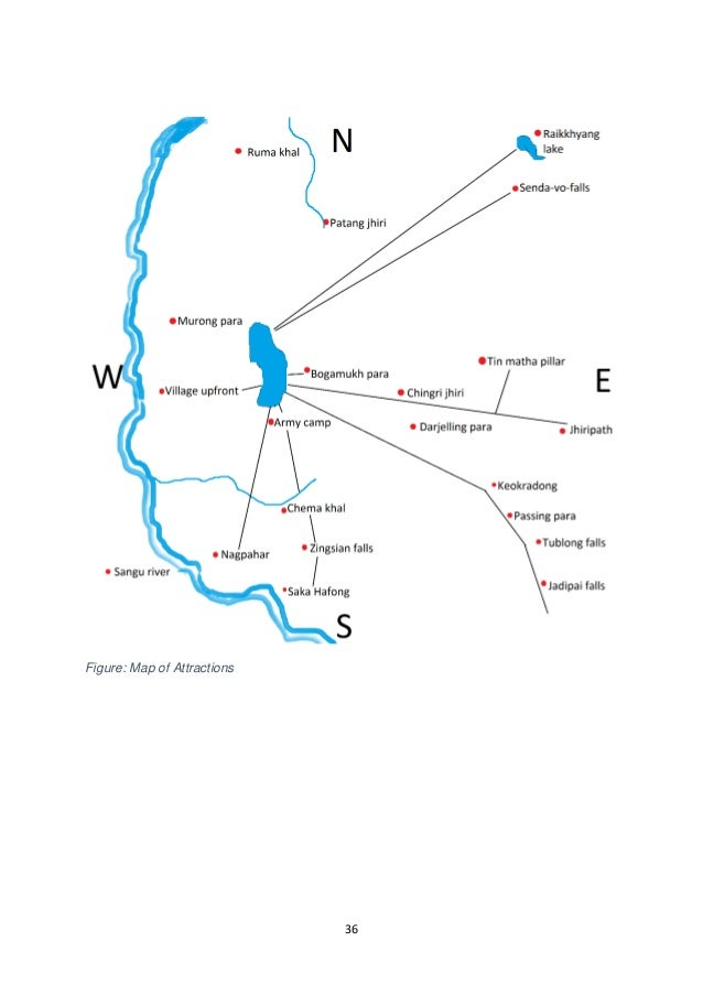 36  Figure: Map of Attractions