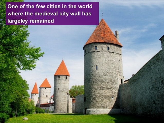 One of the few cities in the world where the medieval city wall has largeley remained