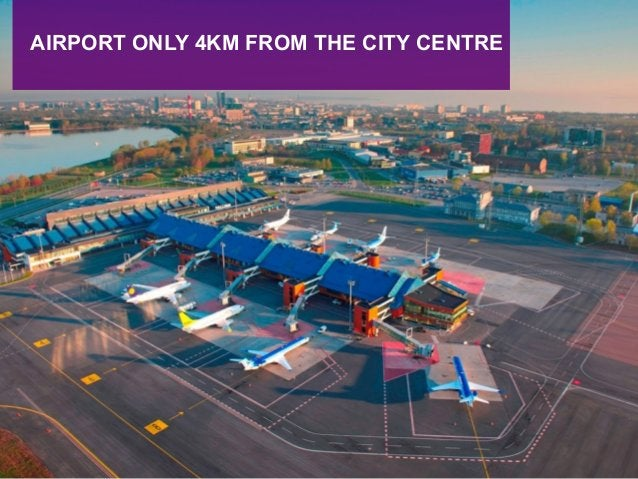 AIRPORT ONLY 4KM FROM THE CITY CENTRE