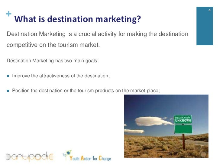 tourism destination marketing A destination marketing organization (dmo), also known as convention & visitors bureau (cvb), looks after the promotion of a territory and its key constituents.