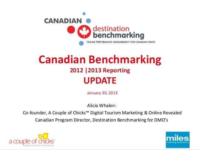 Canadian Benchmarking                      2012  2013 Reporting                            UPDATE                         ...
