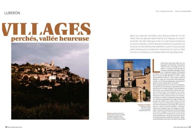 Luberon, villages perchés, vallés heureuses