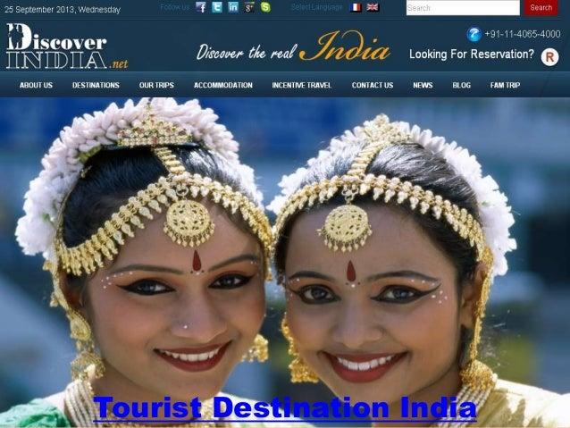 Tourist Destination India