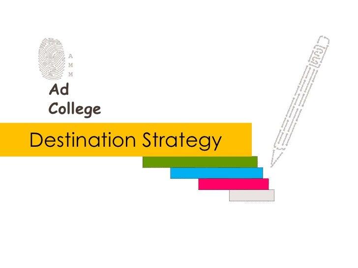 Destination Strategy<br />
