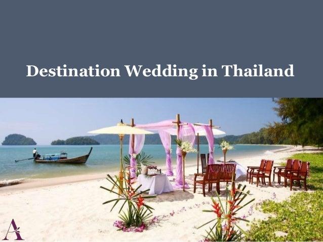 Destination Wedding in Thailand
