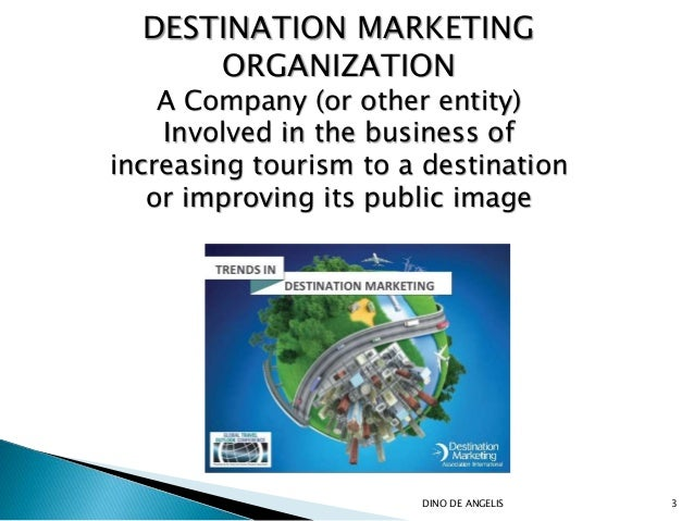 destination marketing organization Destination marketing association international defines destination marketing organizations (dmos) as organizations charged with representing a specific destination and helping the long-term.