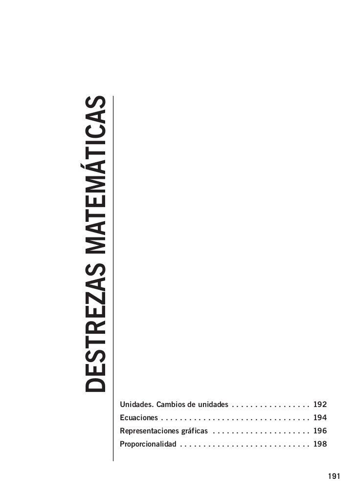 826722 _ 0191-0200.qxd   21/2/07           16:56      Página 191                            DESTREZAS MATEMÁTICAS         ...