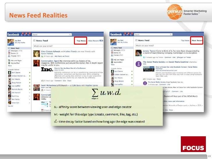 News Feed Realities<br />